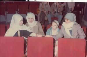 Darqawiyyahs kvinnor på konferens om maliki fiqh i Tunis.