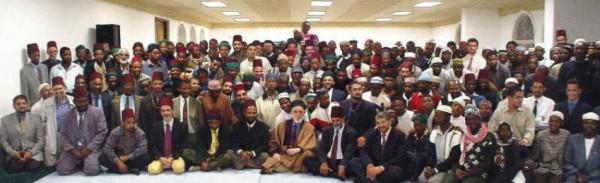 Shaykh Dr Abdalqadir as-Sufi och darqawiyyahs fuqara i Sydafrika