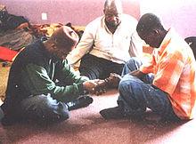 Darqawiyyahs fuqara i gettot i Soweto, Johannesburg, Sydafrika