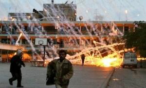 Israel släppte vit fosfor över sjukhusen i Gaza
