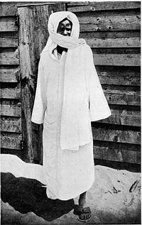 Shaykh Ahmadou Bamba (1853–1927) grundaren av Mouridiyyah, Senegal.
