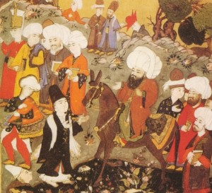 Jalaluddin al-Rumi och Shamsuddin al-Tabrizi