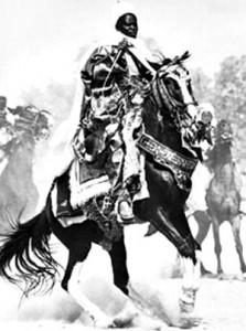 Västafrikansk krigare