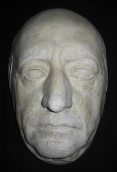 Goethes dödsmask - må Gud vara hans själ nådig