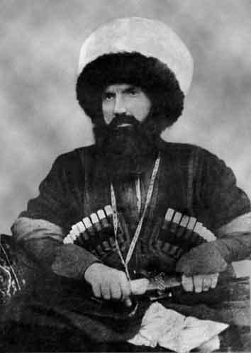 Den sufiske krigaren och antiimperialisten Imam Shamil (1797-1871)