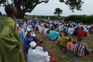 Senegal - bön ute i det fria