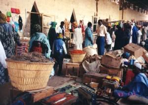 Marknaden (i Timbuktu) är livets puls och en del av människans villkor
