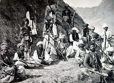 Afghanska krigare