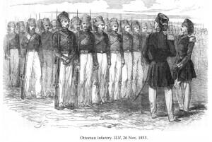 Den osmanska armén 1853