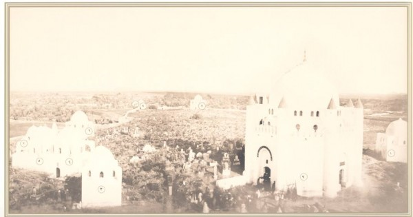 Jannat al-Baqi i Medina innan förstörelsen