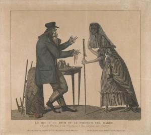 En fattig änka vid bankirens generöst uppdukade bord