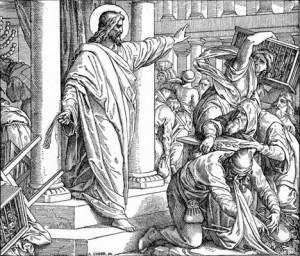 Jesu vrede mot ocker i Jerusalems tempel