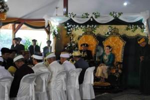 Sultan Mudaffar Sjah II av sultanatet Ternate i östra Indonesien